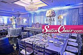table and chair rentals chicago satin chair rental wedding event decor chicago naperville