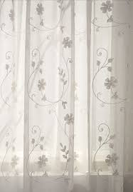 Where To Buy White Curtains Unique White Sheer Curtains With Embroidery Curtains Blinds