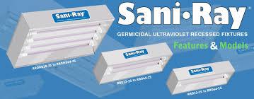Uvc Light Fixtures Saniray Germicidal Ultraviolet Fixtures Features And Models