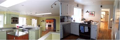 small kitchen remodel before and after stunning diy star garland