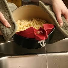 Kitchen Gadget Ideas Amazon Com Silpoura Clip On Single Red Silicone Pouring Spout