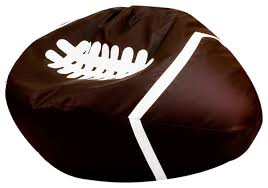 beanbag football contemporary bean bag chairs by turbo beds