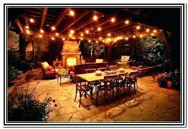 Patio Light Outdoor Globe Lights Strings Lighting String How To Hang Outdoors