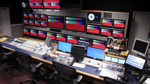 News Studio Desk by Custom Consoles Supports Bbc Studios And Post Production U0027s Elstree
