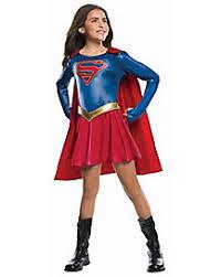 Halloween Costumes Superheros Kids Supergirl Costume Supergirl Chelsea