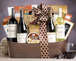 country wine gift baskets rodney strong estate collection gift basket at wine country gift
