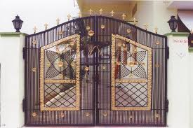 indian beautiful modern house entrance main iron gate designs