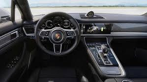 porsche hatchback interior inside the new 2018 porsche panamera turbo s e hybrid
