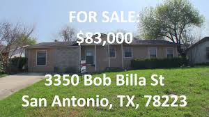 san antonio hud homes hud king tours 3350 bob billa st youtube