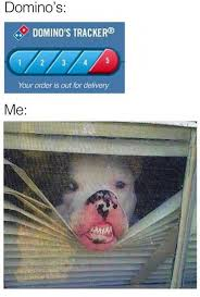 Delivery Meme - your order is out for delivery jpg