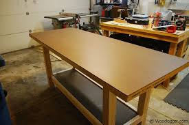 Woodworking Bench Top Plans by Shop Made Workbench