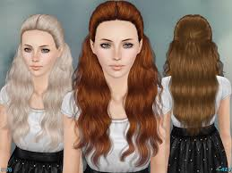 hairstyles download cazy s hannah female hairstyle set