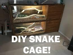 reptile l stand diy diy snake cage