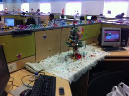 Desk Decorating Creative Office Cubicle Decorating Ideas For Christmas