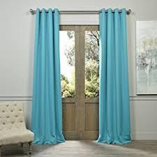 Turquoise Blackout Curtains Half Price Drapes Boch 201404 96 Gr Grommet Blackout