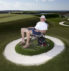 Backyard Golf Course by Dave Pelz Backyard Golf Laboratory Synlawn