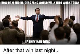 Funny Raider Memes - 25 best memes about oakland raider oakland raider memes