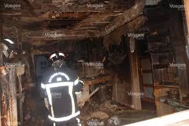 feu de cuisine edition de dié une maison sinistrée par un incendie
