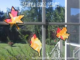 stained glass leaves here comes the sun