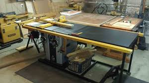 Grizzly Router Table The Ever Evolving Workshop 1 New Delta Unisaw With 52