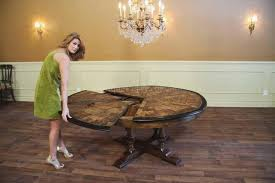 large dining table seats is also a kind of round room table
