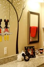 Mickey Mouse Bathroom Accessory Set Mickey And Minnie Mouse Bathroom Set Mickey Mouse Bathroom Decor