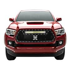 tacoma grill light bar t rex grilles 6319411 tacomagrille insert torch series black with 20