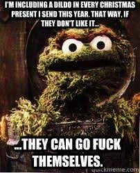X Rated Friday Memes - oscar the grouch meme you re a grouch me pinterest meme