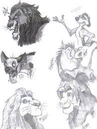 lion king characters artistmaz deviantart