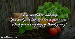 i on this special day thanksgiving card message