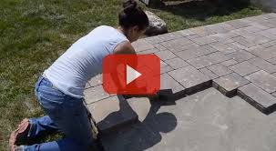 How To Cover A Concrete Patio With Pavers How To Install Patio Pavers On A Concrete Slab Semco Outdoor