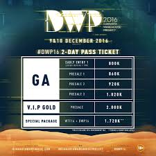 dwp 2017 on get your dwp16 2 day pass tickets today at