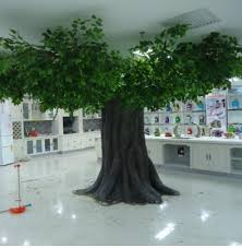 guangzhou factory make outdoor artificial ficus tree