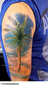 tree tattoos palm tree of pine tree