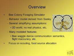 This Closest by The Hive Is Hungry Exploring Bee Colony Search And Foraging