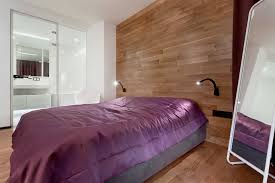 wood paneled bedroom interior design ideas