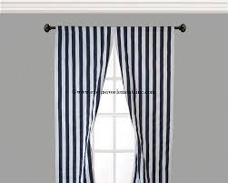 navy stripe curtain panels navy blue curtains drapery window