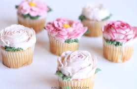 Frosting Recipe For Decorating Cupcakes How To Make Buttercream Flower Cupcakes U2022 Avalon Cakes