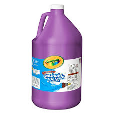 Purple Paint by Washable Paint 128 Oz Crayola