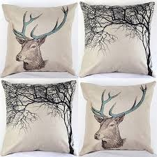 Stag Cushions Online Get Cheap Pillowcase Stag Aliexpress Com Alibaba Group