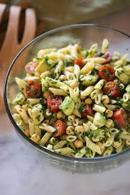 salad pasta spinach avocado pasta salad tastes better from scratch