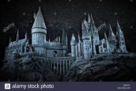 hogwarts of witchcraft and wizardry stock photo royalty