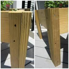 Planter With Legs by Scrap Wood Planter Box Pretty Handy