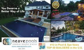 neave u0027s 3 coolest infinity edge pool designs neave pools