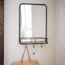 west elm entry table entryway mirror hooks west elm