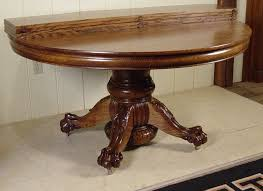 Antique Oak Dining Room Table 54