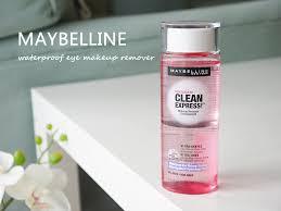 maybelline clean express waterproof eye makeup remover