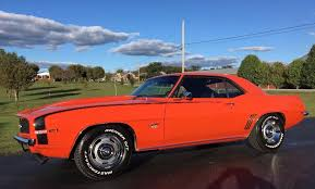 1969 chevrolet camaro x11 real supersport new hugger orange paint