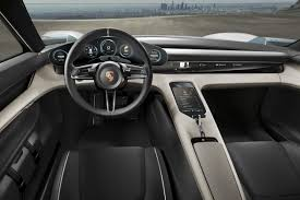 suv tesla inside porsche u0027s electric mission e is poised to whoop tesla u0027s model s