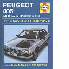 peugeot 405 petrol service u0026 repair manual rendle steve och